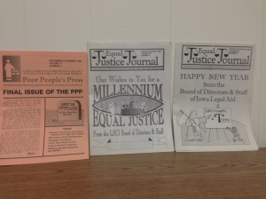 The Poor Peoples Press evolves into the Equal Justice Journal